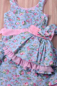 Girls Red Gingham Dress Baby Girl Dress Toddler by TootandPuddle Girls Frock Design, Baby Dress Design, Kids Frocks Design, Baby Frocks Designs, Baby Girl Frocks, Frocks For Girls, Dresses Kids Girl, Little Dresses, Cotton Frocks For Kids