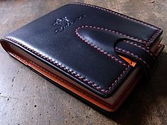 Handmade Leather Wallet, Leather Gifts, Leather Craft, Leather Men, Leather Card Wallet, Stitching Leather, Leather Tooling, Leather Purses, Leather Wallets