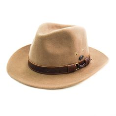 cc38edd0a2f Bigalli - Outback Felt Fedora Hat