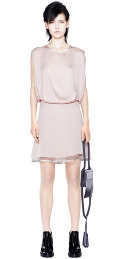Marlow Blush Acne Dress// Tiffany