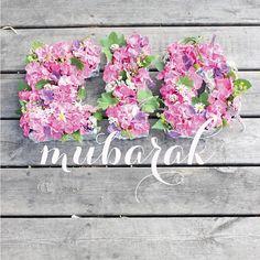 Eid Mubarak! Eid Greetings, Ramadan Mubarak, Happy Eid, Deco, Floral Wreath, Heavenly, Islamic, Gardens, Sayings