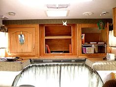 When you are living in an RV permanently, there are several adjustments that you have to make. You obviously will have less room for stuff than you would