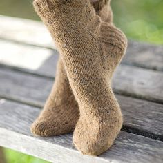 Really want to make some sock to wear with my LL Bean booties for fall/winter  (Basic Sock Pattern)
