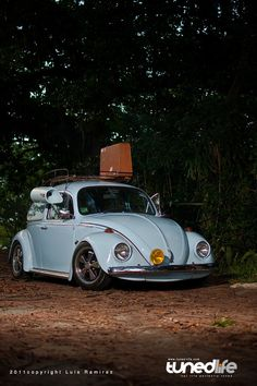 Aircooled 69' VW Beetle with a Swamp Cooler
