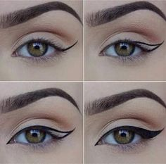How to Apply Eyeliner. Eyeliner can help make your eyes stand out or look bigger, and it can even change their shape. Even if you've never worn eyeliner before, all it takes is a little practice to take your makeup to the next level! Eyeliner Hacks, Khol Eyeliner, How To Apply Eyeliner, Eyeliner Pencil, Perfect Eyeliner, Eyeliner Brands, Eyeliner Ideas, Applying Eyeliner, Cat Eye Eyeliner