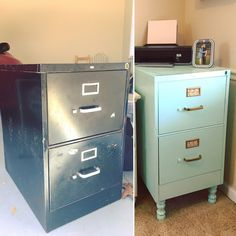 88 Metal File Cabinet Makeover is part of Antique furniture DIY Black - Antique furniture DIY Black Furniture Projects, Furniture Makeover, Home Projects, Diy Furniture, Metal Desk Makeover, Bedroom Furniture, Furniture Removal, Metal Furniture, Office Furniture