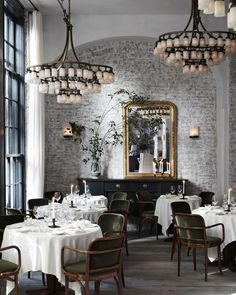 Inside the Roman & Williams–Designed Le Coucou Restaurant | Architectural Digest