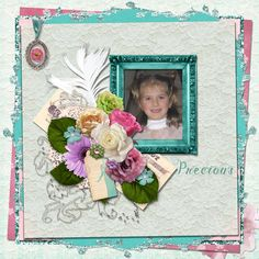 Precious - theStudio Gallery LO by Renee using #ADBDesigns & #SKrapperDigitals new Collection: Summer Romance