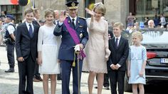 Kong Philippe og dronning Mathilde