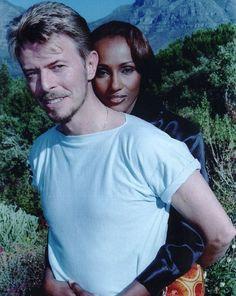 He built it shortly before he married supermodel wife Iman (pictured together in 1995)