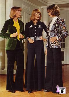1970's fashion  1974