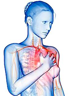 stress and heart disease- stress is extremely linked to coronary heart disease.  This is because stress causes the blood vessels to close and such.  this is not the only cause of this disease though, just one of many.