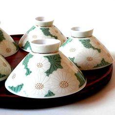 昭和レトロなかわいいお茶碗