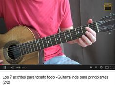 (2/2) Los 7 acordes para tocarlo todo - Guitarra para principiantes https://www.youtube.com/watch?v=8Zqny1-t_rQ