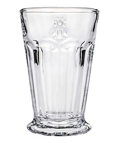 Look what I found on #zulily! Bee Highball Glass - Set of Six #zulilyfinds
