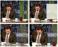 """When he hated """"moist"""". 