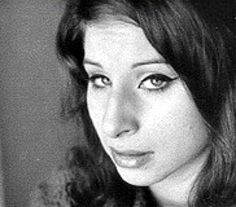 young Barbra Streisand. 1962.. yes.. the makeup is all telling here...