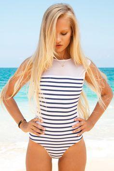 BLUE LIFE Portofino One Piece One Piece   Stripes Lili