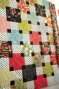 Great Optical Illusion Quilt Hgtvs Simply Quilts Patterns Simply Quilts Patterns