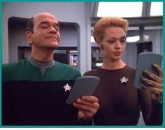 Star Trek Voyager Doctor and Seven of Nine