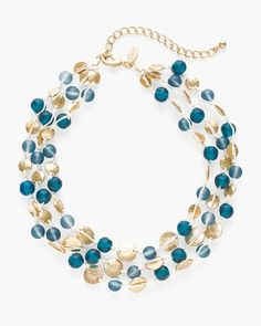 Calla Multi-Strand Necklace