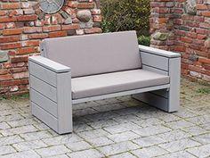 Lounge sofa outdoor holz  binnen-markt Lounge Sofa 3/4-Sitzer Heimisches Holz Douglasie ...