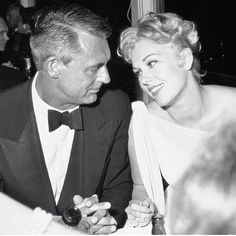 Cary Grant and Kim Novak :)