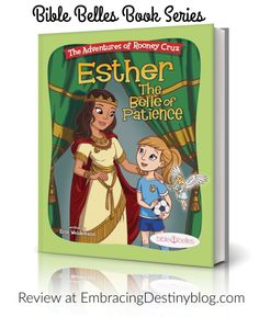 Read a review of the Bible Belles book series for girls at embracingdestinyblog.com