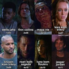 The 100 They will be missed