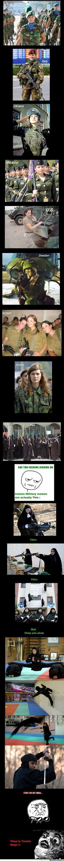 Military Women Reloaded #Meme #FunnyMeme