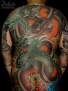 Snake by Miyazo