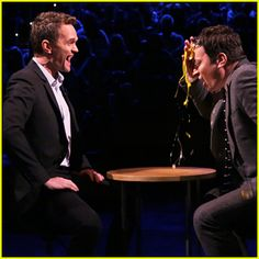 Neil Patrick Harris & Jimmy Fallon Play Egg Russian Roulette On