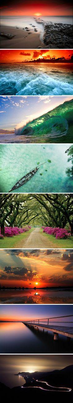 Beautiful sceneries. Repinned by Hektor Konomi