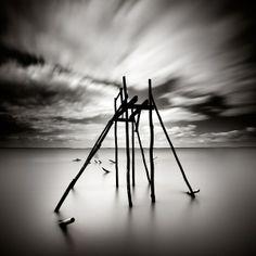 Xavier Rey Photographies - Entre deux îles | Vestiges II - Port-des-Barques, France 2010
