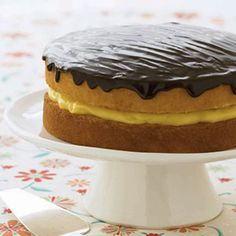 Boston Cream Pie - GoodHousekeeping.com