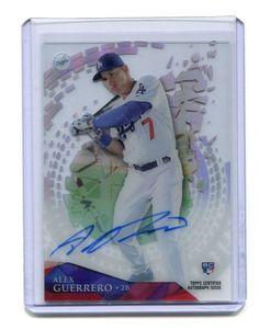 2014 Topps Tek Alex Guerrero Rookie Autograph Los Angeles Dodgers…