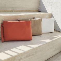 LOET leather wristlet & crossbody bag