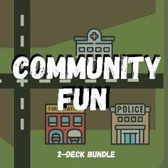 Boom Cards - Community Themed Bundle: Vocabulary, Association, Sentence Comprehension My Community, Community Helpers, Wh Questions, This Or That Questions, Vocabulary Building, Speech Therapy, Comprehension, Sentences, Deck