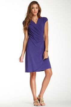 Tambour Side Gathered Dress by Tommy Bahama on @HauteLook