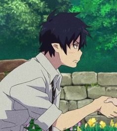Cute Anime Profile Pictures, Matching Profile Pictures, Cute Anime Pics, Blue Exorcist, Anime Cupples, Kawaii Anime, Cute Cartoon Wallpapers, Animes Wallpapers, Couples Anime