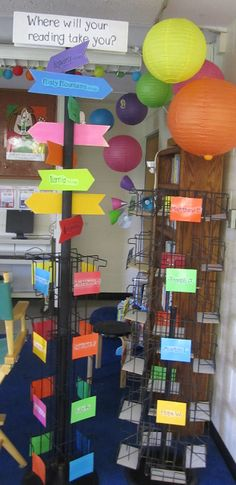 Forever in Fifth Grade: Tried it Tuesday-Reading Area Revealed!