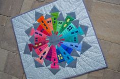 Welcome to my Wonky Dresden Neighborhood! About a month ago I took this fun class from Martha Lindberg at Not Your Mama's Quilt Store . ...