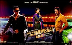 New Delhi: After successful biopic 'Bhaag Milkha Bhaag' and hit masala movie 'Chennai Express' comes gangster drama 'Once Upon Ay Time In Mumbai Dobaara!'. Directed by Milan Luthria, the much-awaited Akshay Kumar-starrer hits the screen Friday.  A sequel to the 2010 hit movie 'Once Upon A Time in Mumbaai', it will see the characters, played by Akshay, Imran Khan and Sonakshi Sinha, involved in a love triangle.