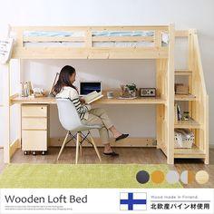 new ideas bedroom loft for teens desks Loft Bed Desk, Build A Loft Bed, Loft Bed Plans, Bunk Bed With Desk, Loft Beds For Small Rooms, Small Room Bedroom, Bedroom Loft, Bedroom Decor, Custom Bunk Beds
