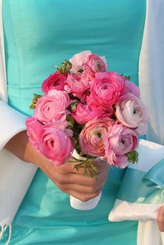 Another mixed pinks bouquet