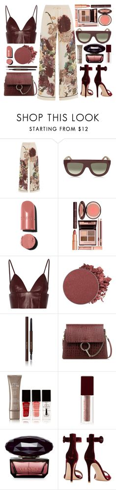"""""""No Problem - Chance The Rapper"""" by tamaramanhardt ❤ liked on Polyvore featuring Valentino, CÉLINE, Chanel, Charlotte Tilbury, T By Alexander Wang, Anastasia Beverly Hills, Hourglass Cosmetics, Chloé, Eve Snow and Kevyn Aucoin"""