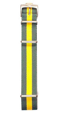 Maurice de Mauriac, Fabric Nato Strap.
