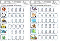 Fiche encoder sons simples Alphabet, Simple, Sons, Math, Cycle 2, Comme, Montessori, School Stuff, Christ
