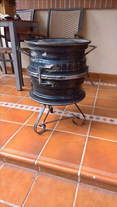 Rim Fire Pit, Mini Wood Stove, Tire Furniture, Bbq Kitchen, Smoke Grill, Fire Ring, Fire Pit Designs, Barbacoa, Charcoal Grill