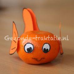 Traktatie: mandarijn als goudvis